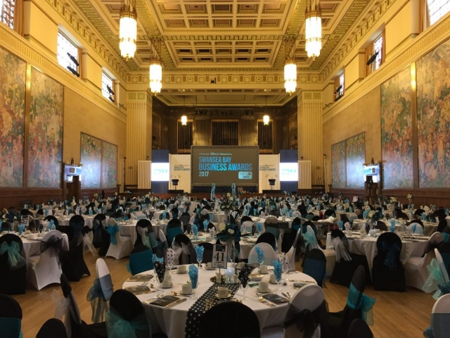 The Main Hall - Banquet / Awards Evening Layout