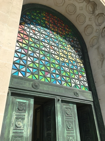 The Brangwyn Hall Stained Glass Windows