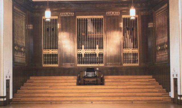 Full view of the Brangwyn Hall Willis Organ