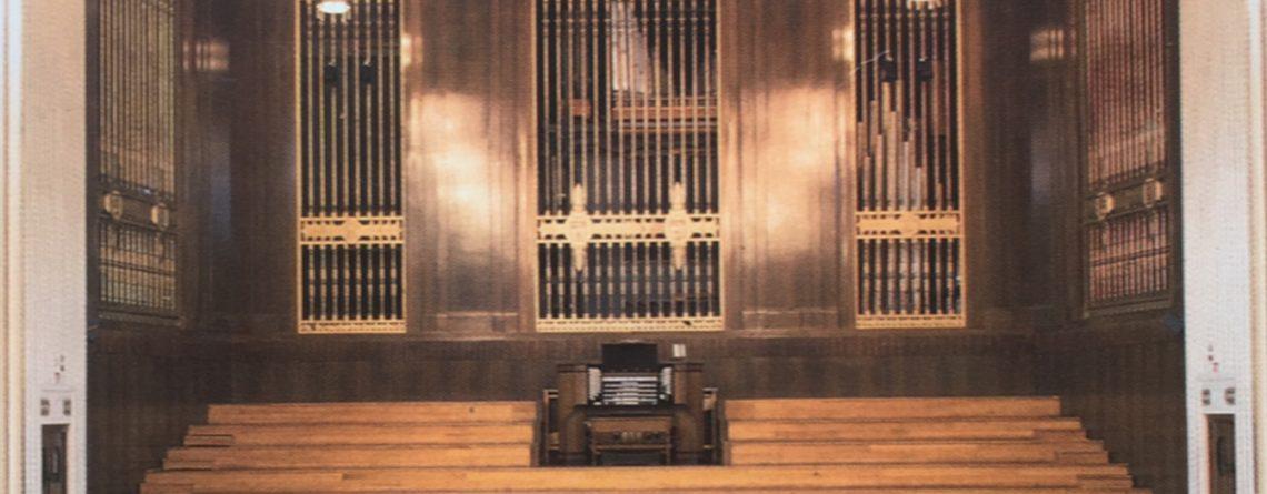 Organ Willis Neuadd Brangwyn