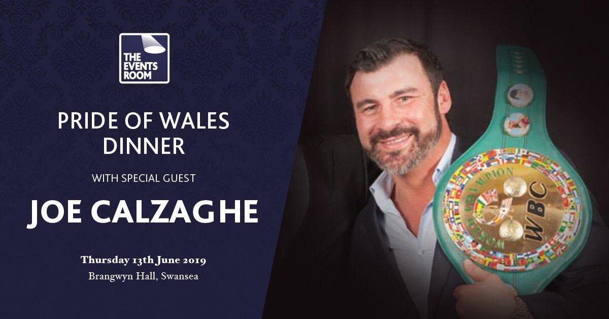Pride of Wales Dinner with Joe Calzaghe CBE
