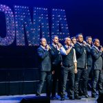 Only Men Aloud onstage