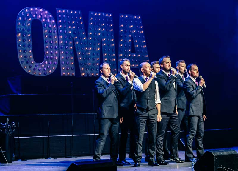 Only Men Aloud Christmas Concert