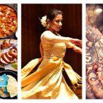 Indian Mela Food Dance Tattoo