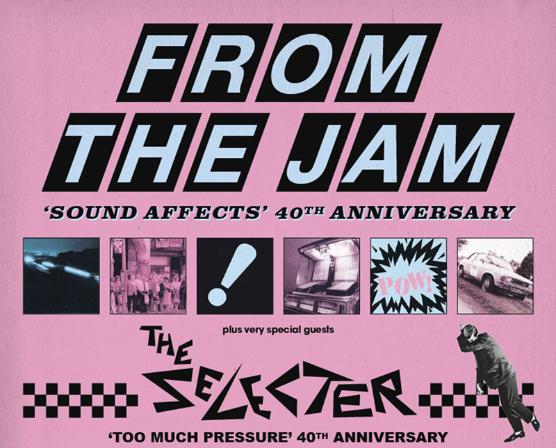 From The Jam & The Selecter 18+