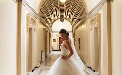 Bride in the Brangwyn