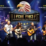 Illegal Eagles on stage